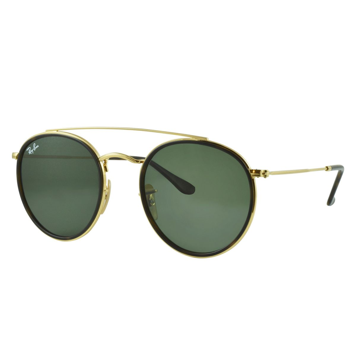 21106b36c1bb6 Óculos de Sol Ray-Ban Rb3647n 001 51 Round Double Bridge