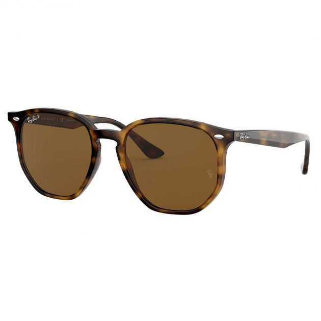 Óculos de Sol Ray-Ban Rb4306 710/83 54 145 Hexagonal Polarizado